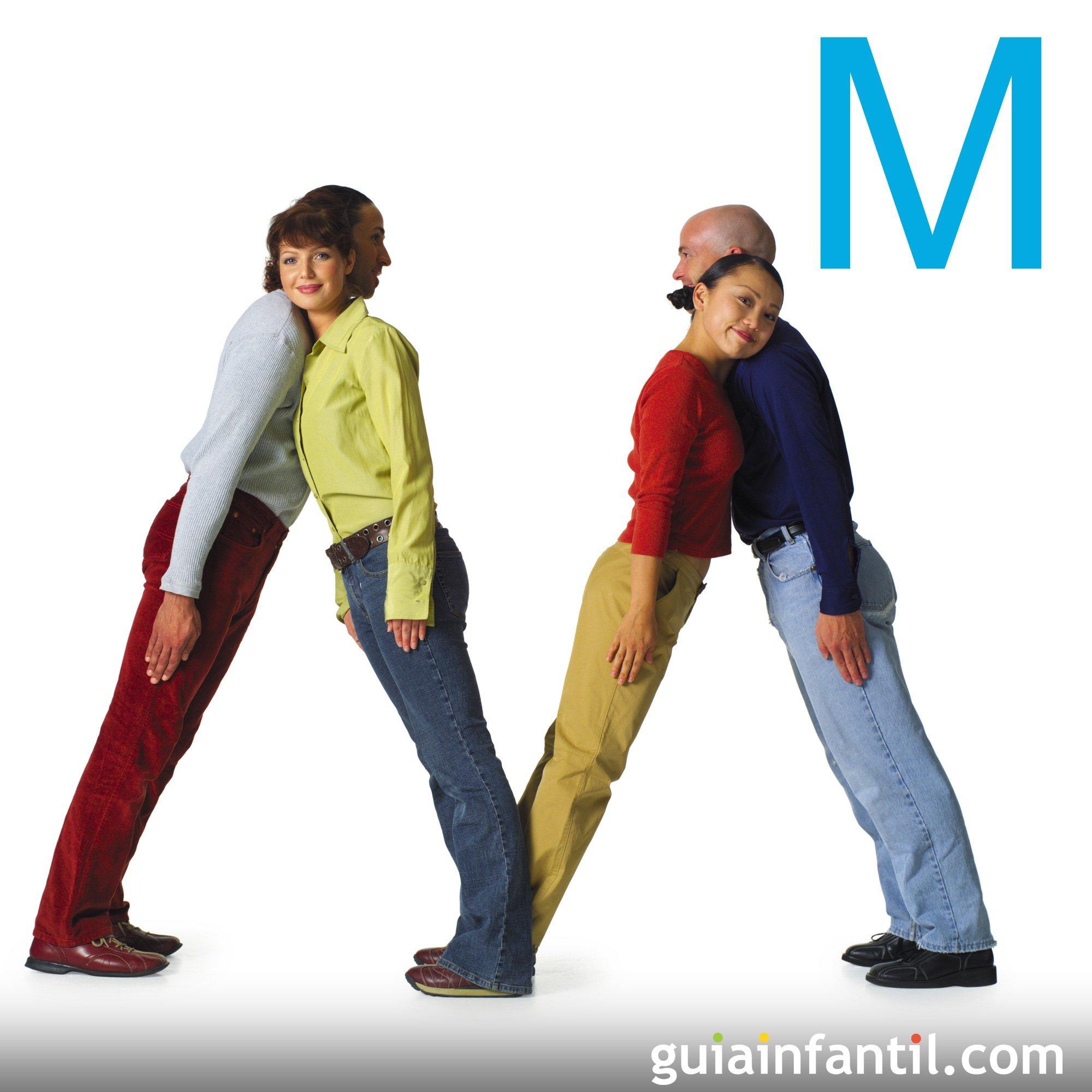 Cómo hacer la letra M con el cuerpo