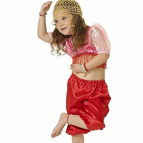 Disfraz de bailarina indiana para niñas
