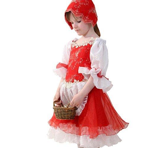 Disfraz de caperucita roja para niñas