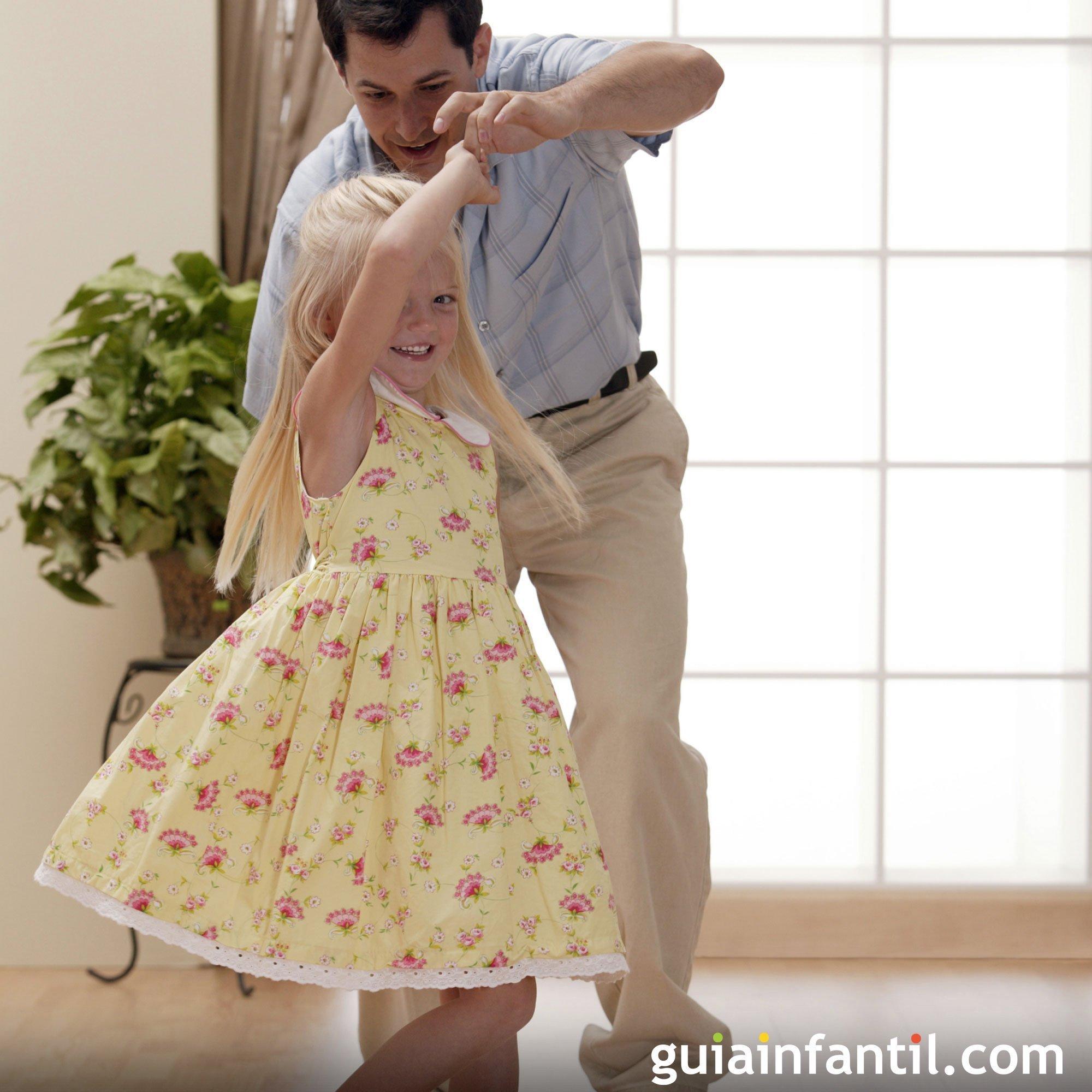 Jugar a bailar con papá