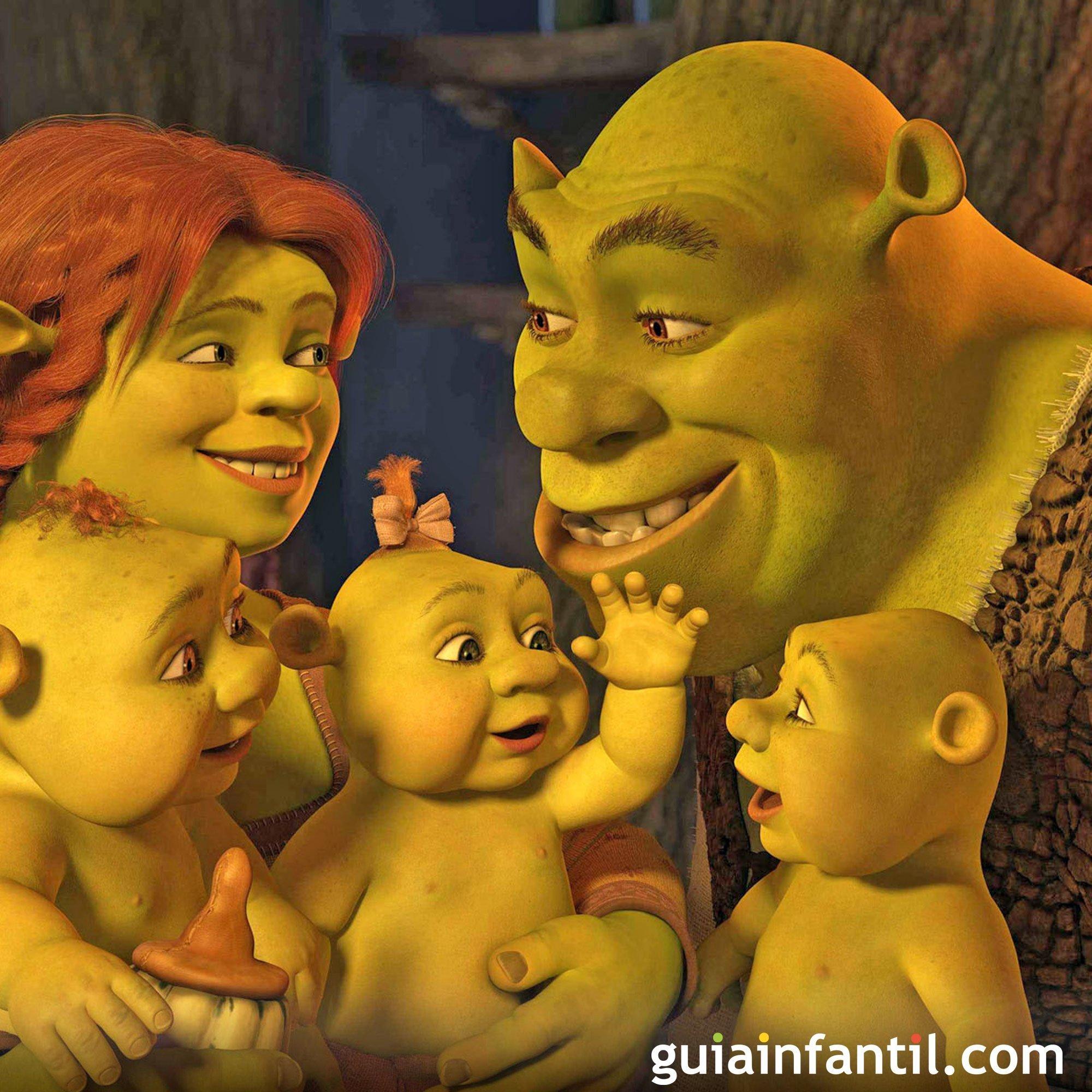 Película Shrek III. Un papá ogro genial