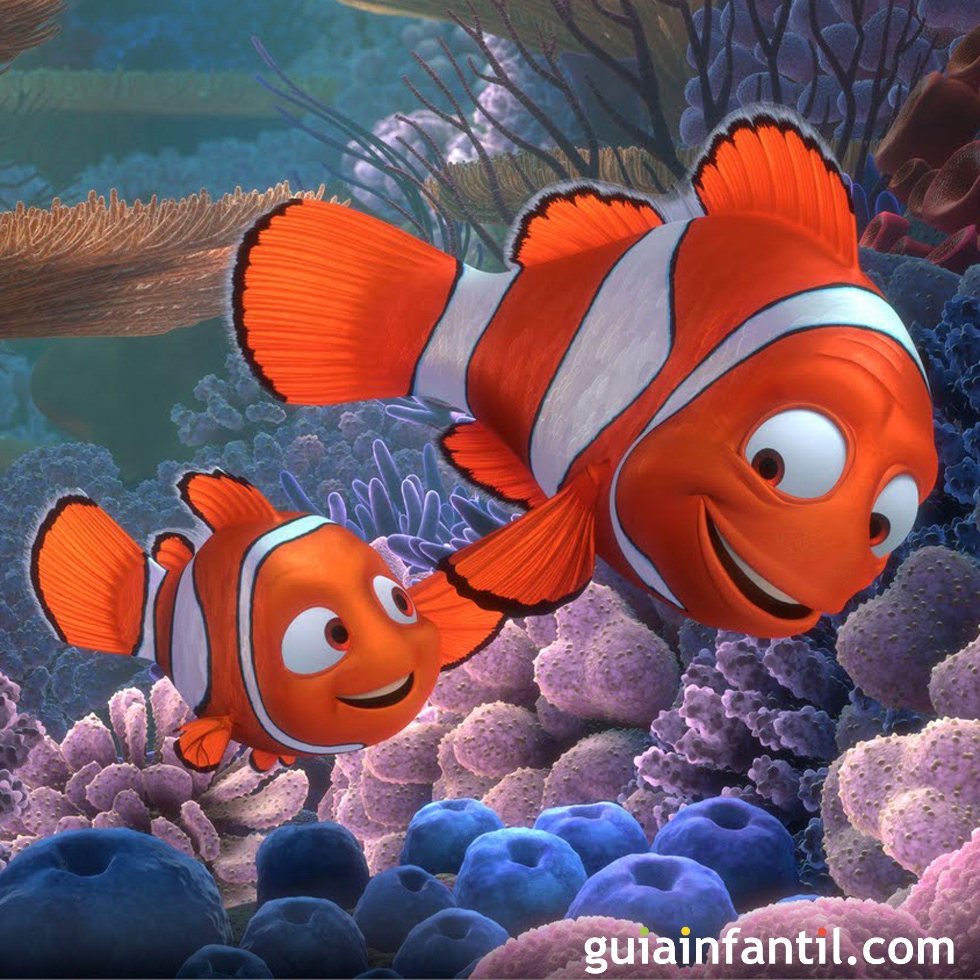 Buscando a Nemo. Una película bajo el mar