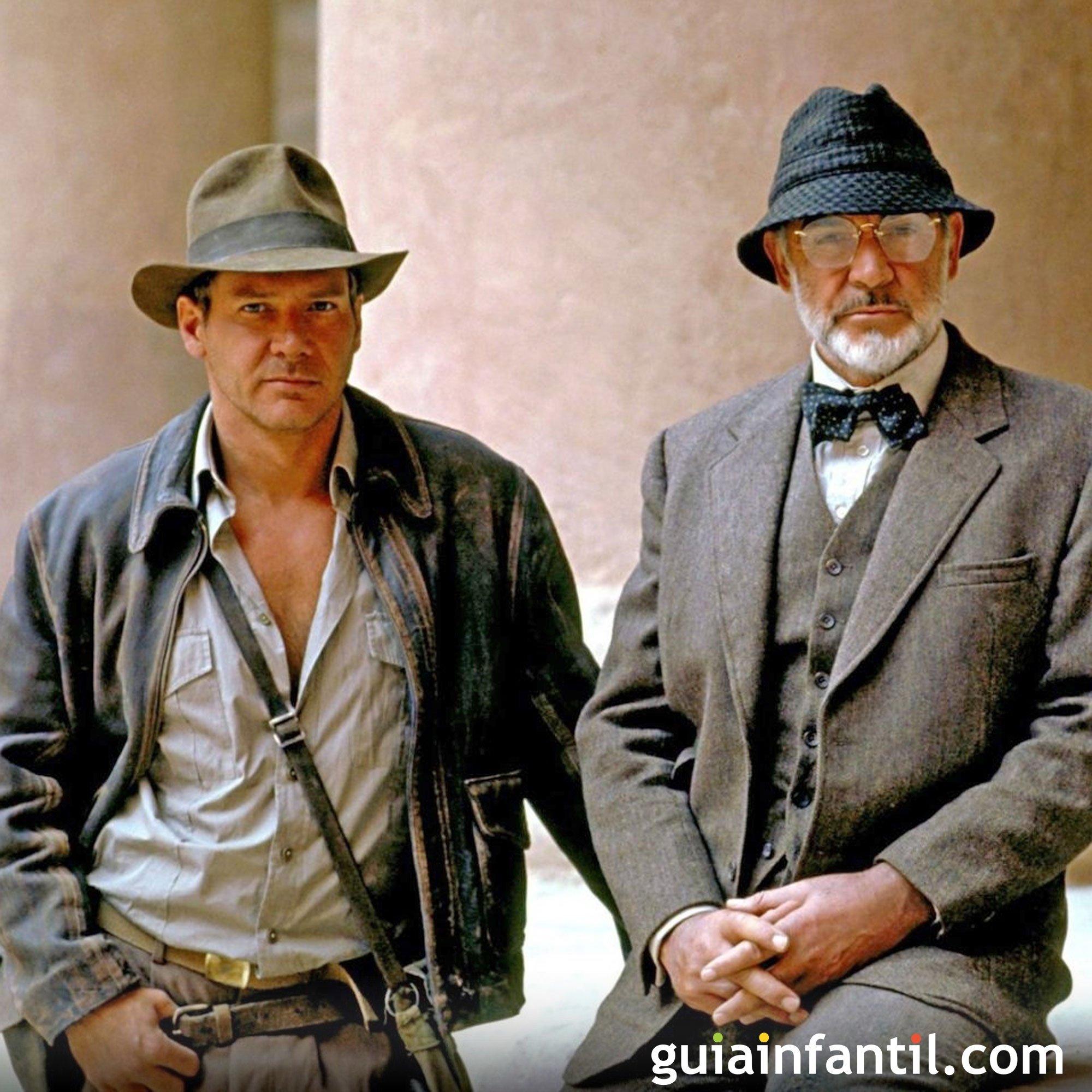Indiana Jones y la última cruzada. Película de aventuras