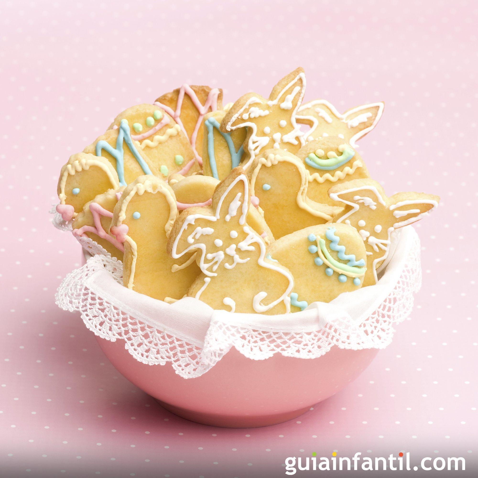 Galletas de Pascua para hacer con niños