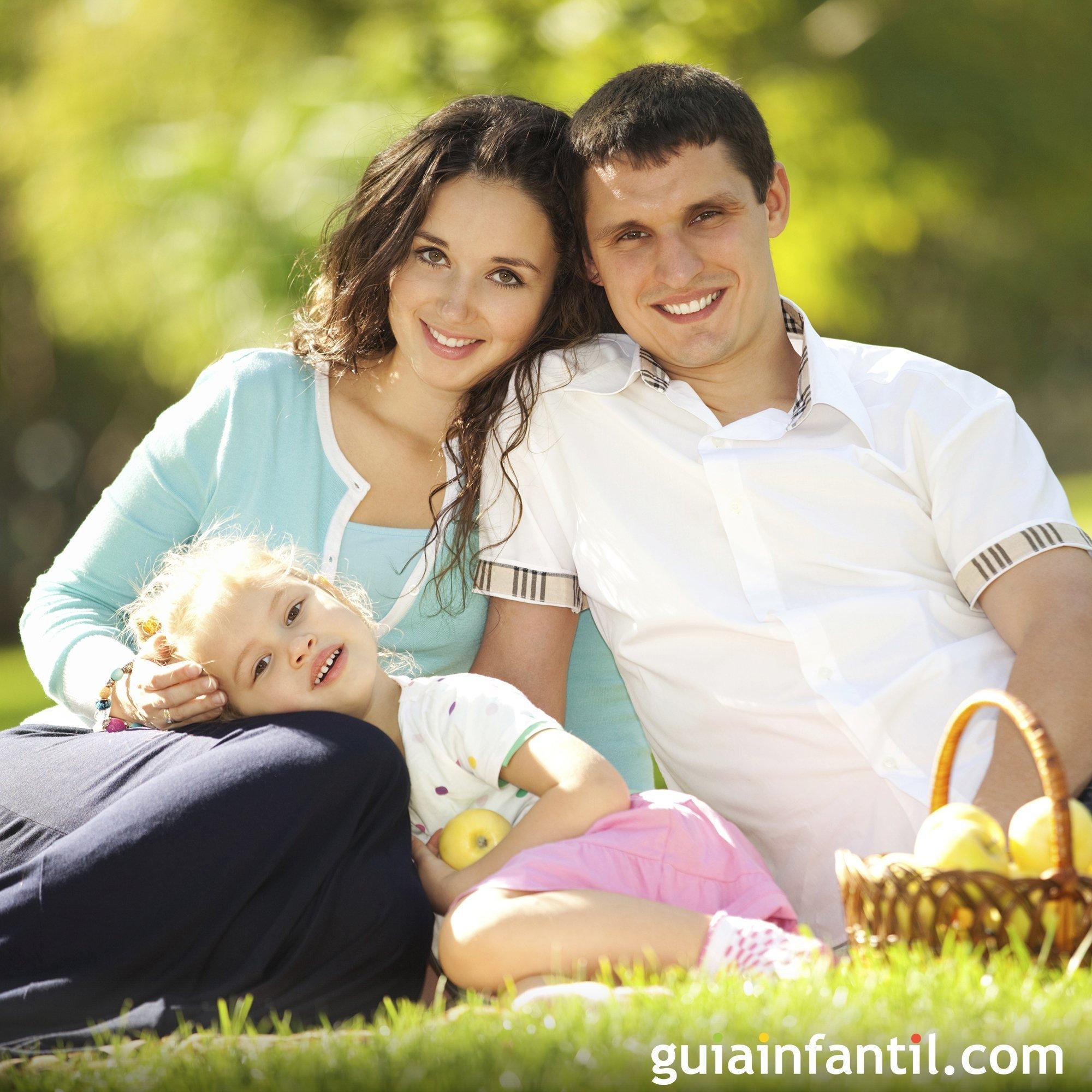 Hacer un picnic con los niños en el campo