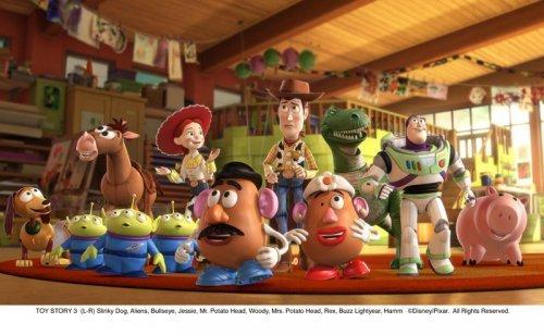 La película infantil Toy Story 3