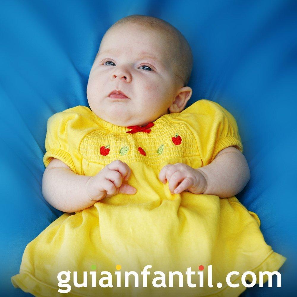 Traje amarillo de bautizo para bebé