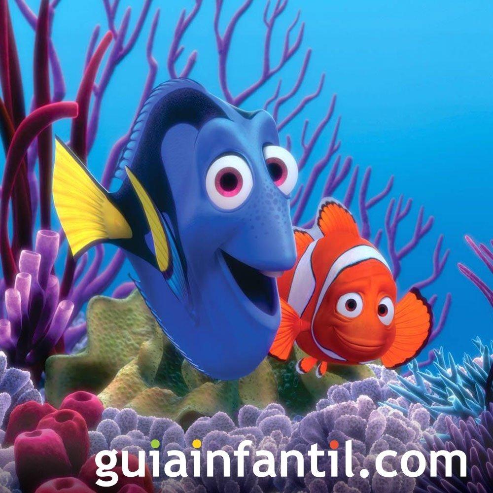 Buscando a Nemo. película de padres e hijos