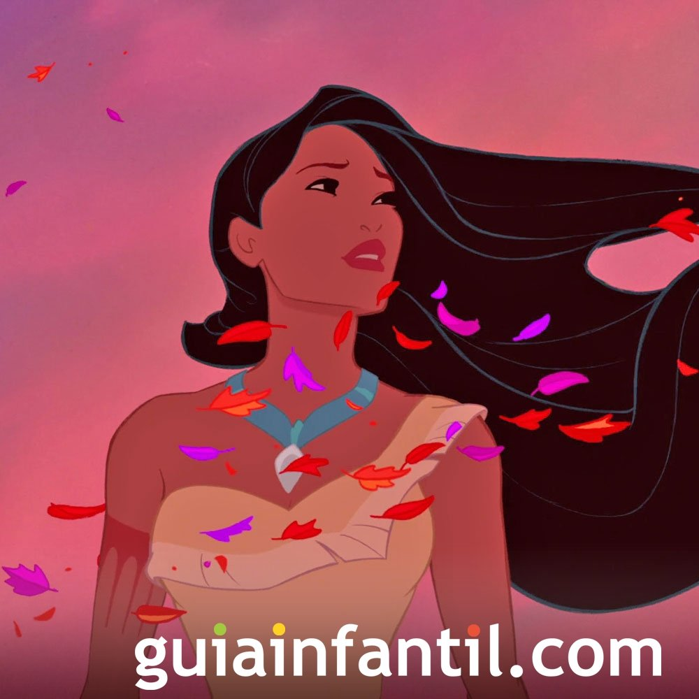 Pocahontas. Película sobre la naturaleza