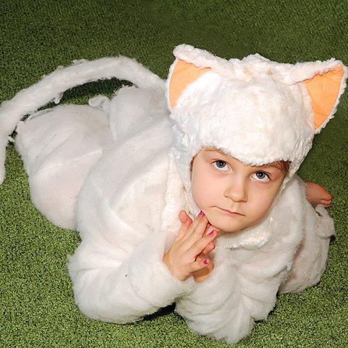 Disfraz de corderito para niños