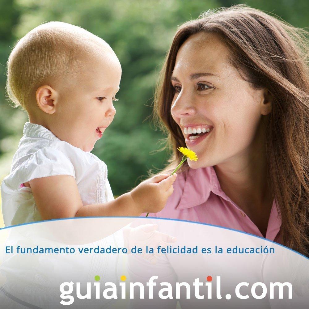 Frase sobre la importancia de la educación en la felicidad