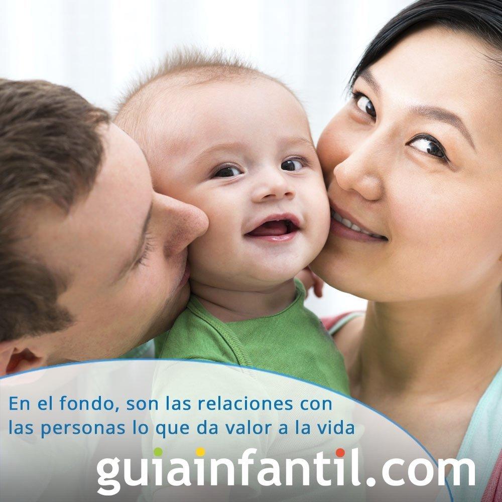 Frase de amor y felicidad para niños