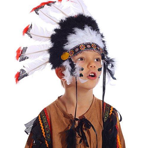 Disfraz de índio para niños