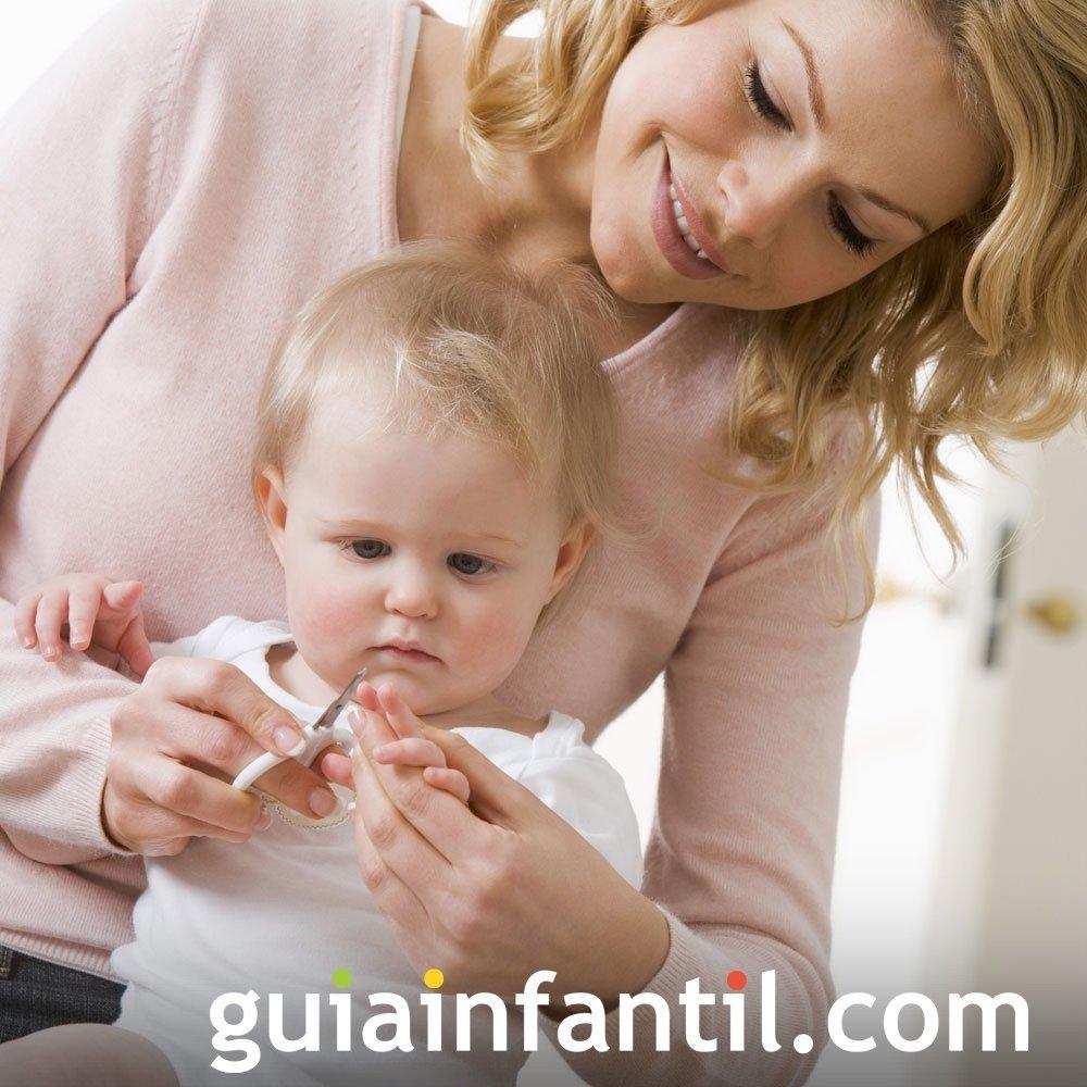 Cómo cortar las uñas del bebé