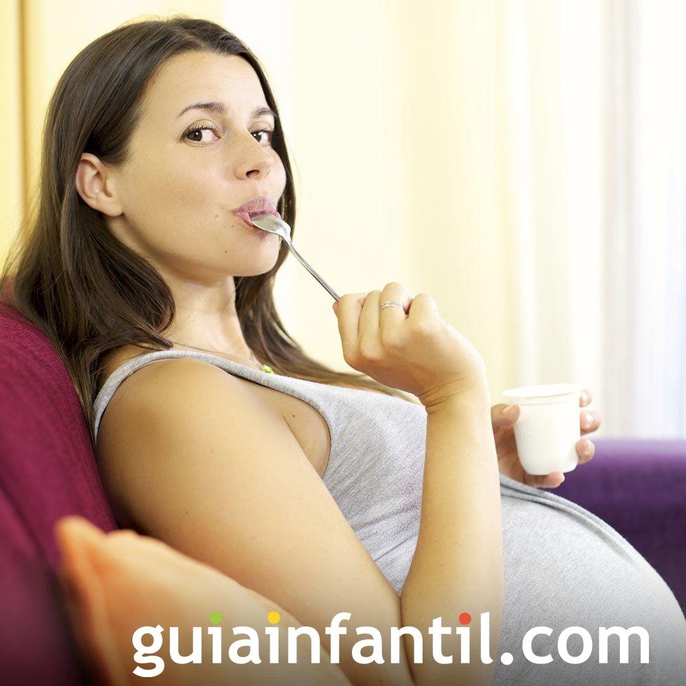 Aumento del apetito de la embarazada
