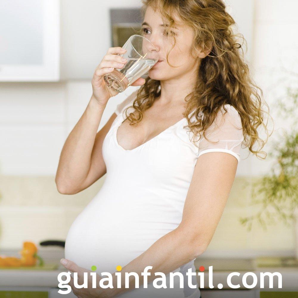 Micción frecuente. Molestias de la embarazada