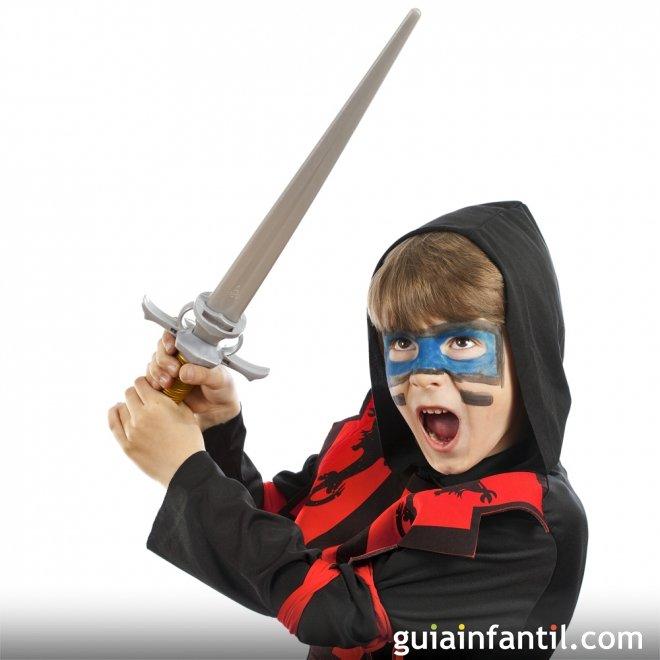 Disfraz de ninja para niños