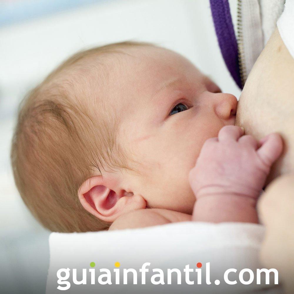 Reflejo de succión en el bebé