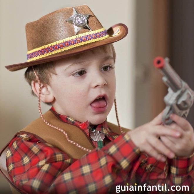 Disfraz de sheriff para niños