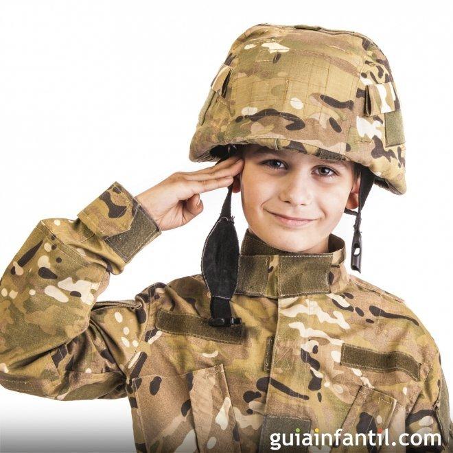 disfraz de soldado para nios