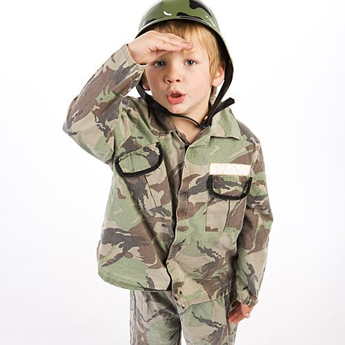 Disfraz de soldado para niños