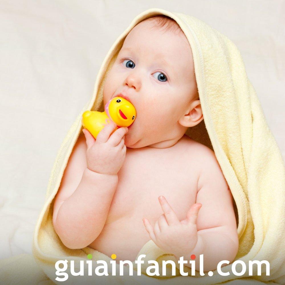 Productos para el baño del bebé