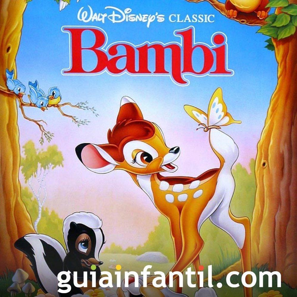 Bambi. Una mamá en el bosque