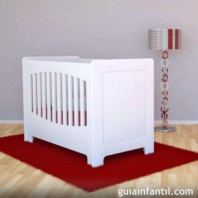 Cuna para el ajuar del bebé