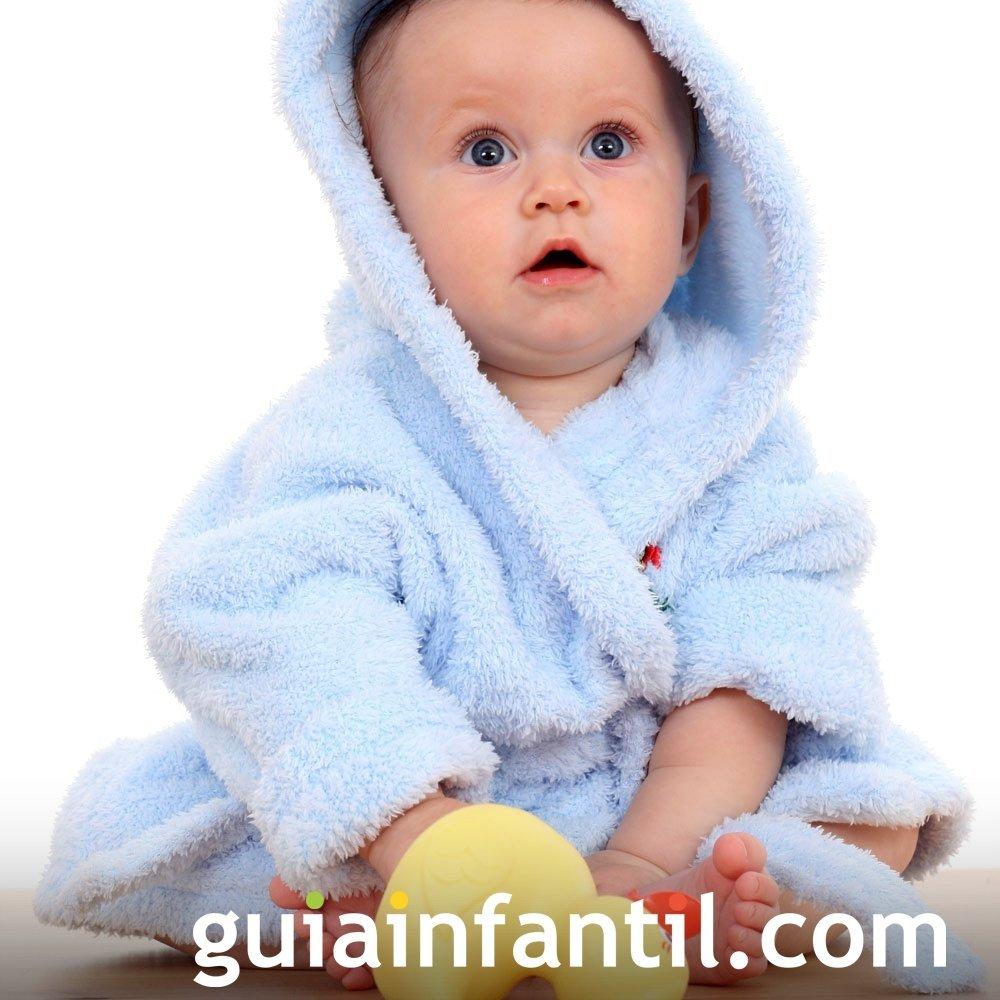 Productos básicos para el baño del bebé