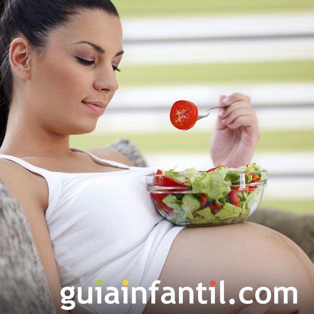 Dieta sana en el embarazo