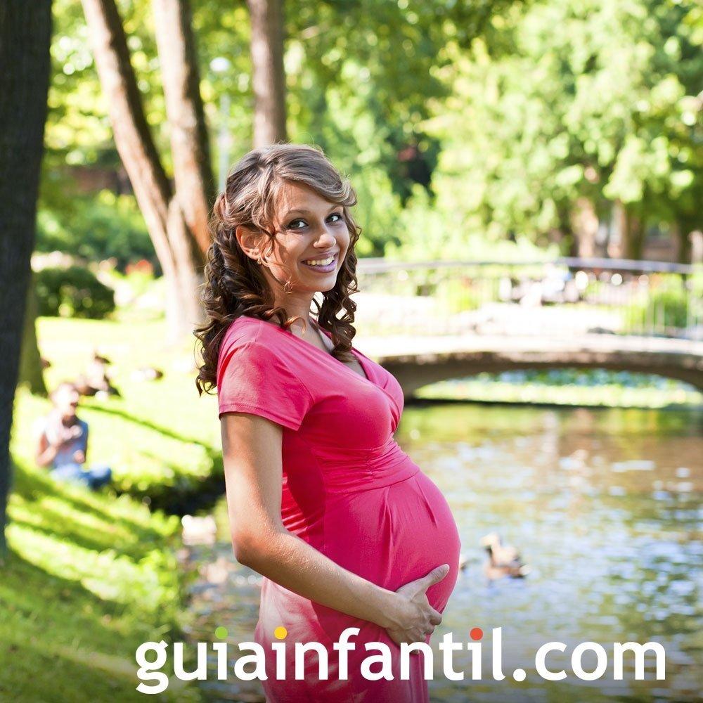 Deporte y paseos en el embarazo