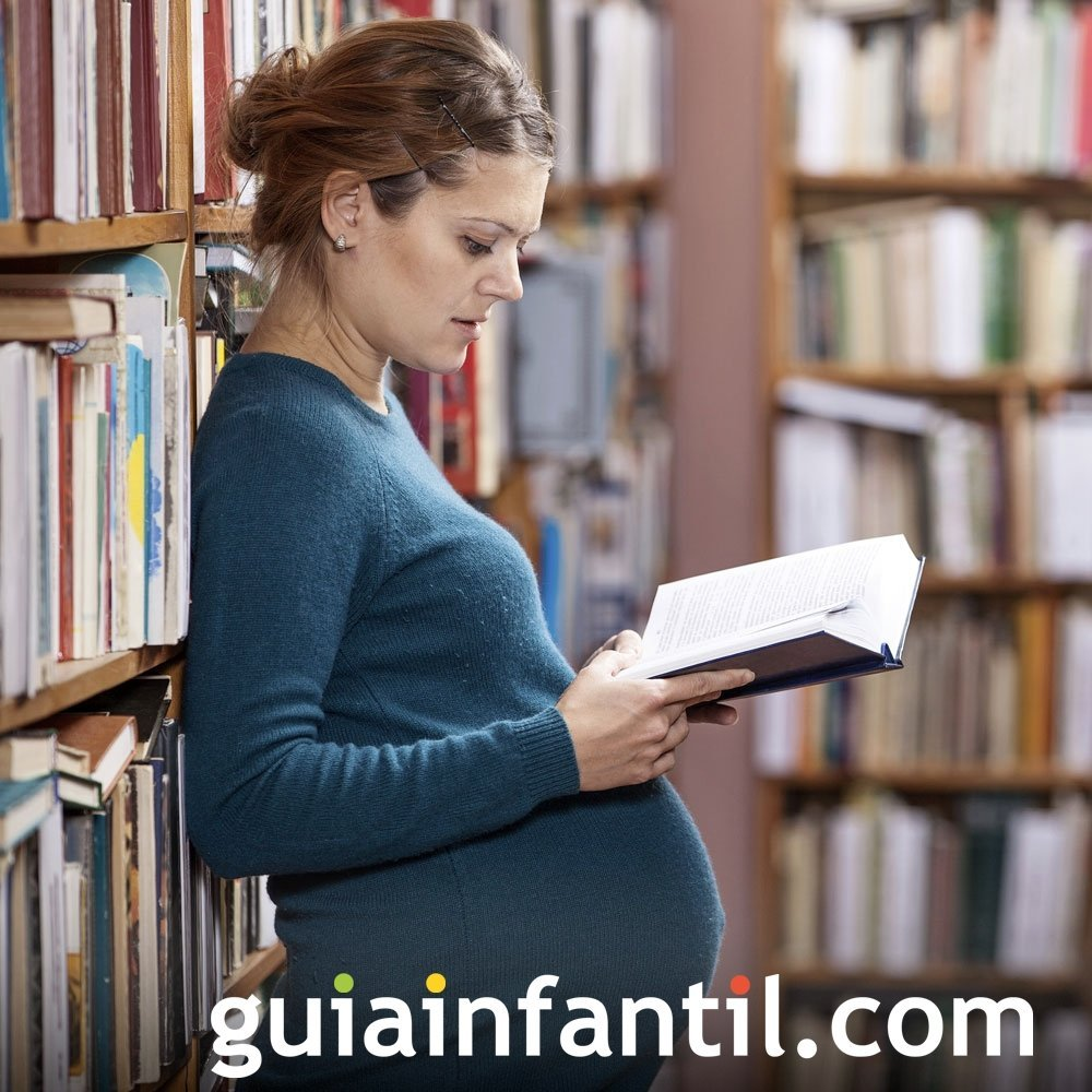 Libros y clases de preparación al parto