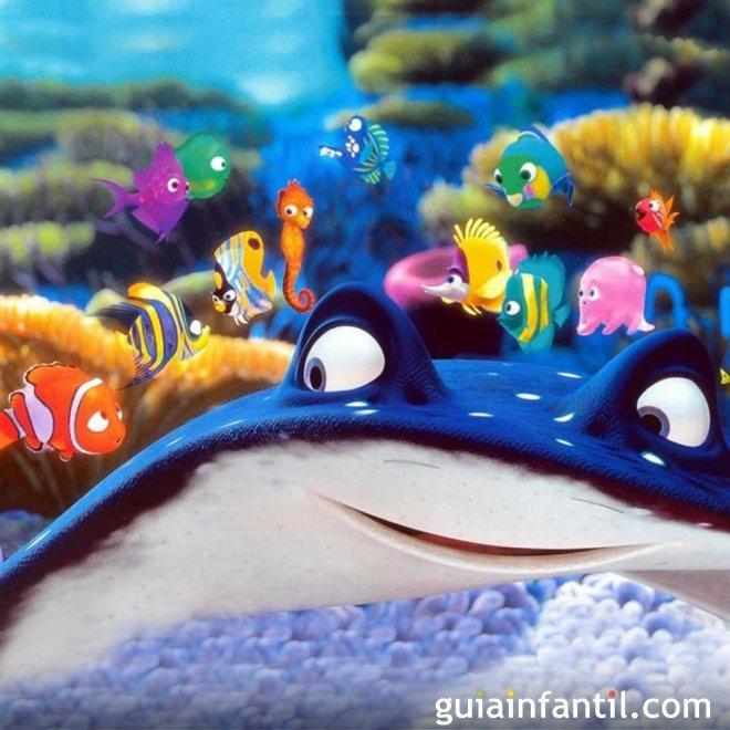 Buscando a Nemo. Películas con maestros