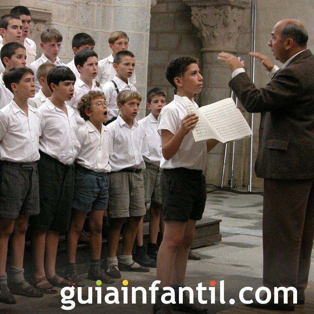 Los chicos del coro. Los maestros en las películas