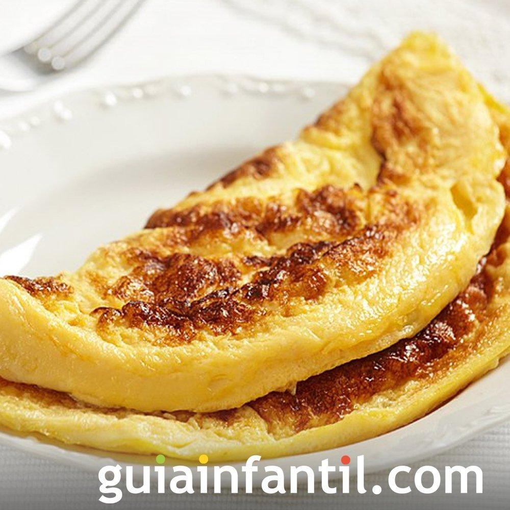 Tortilla dulce de pan rallado. Recetas especiales