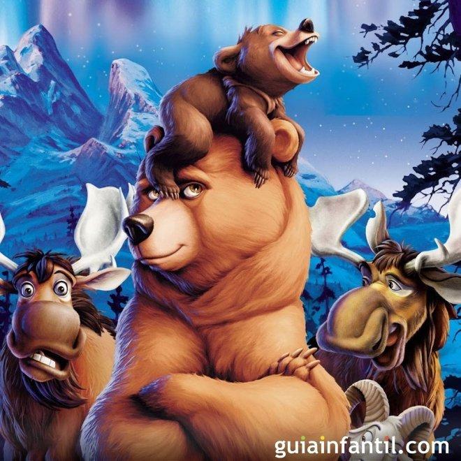Hermano oso. Aventuras de hermanos en el bosque