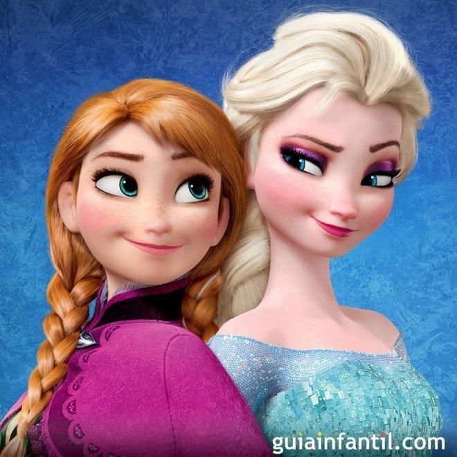 Frozen. Princesas y hermanas