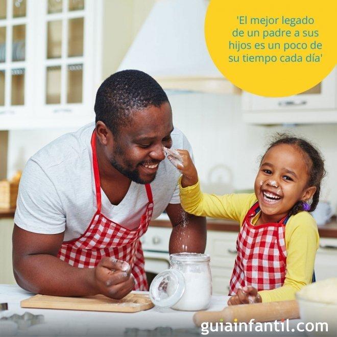 El mejor legado de un padre a sus hijos es un poco de su tiempo cada día