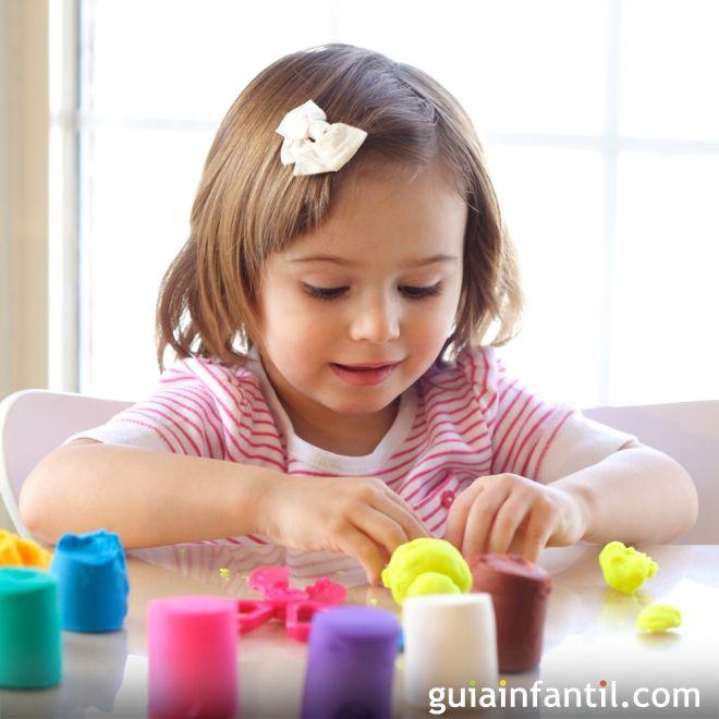 Cómo jugar con la plastilina