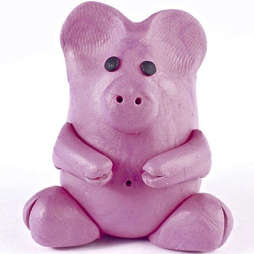 Cómo hacer un cerdo de plastilina