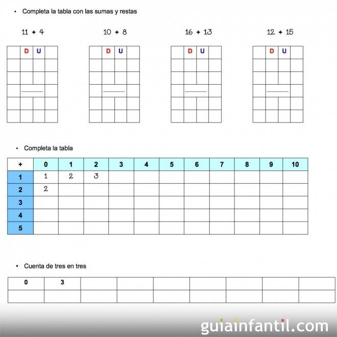 Ejercicios de matemáticas. Series de sumas