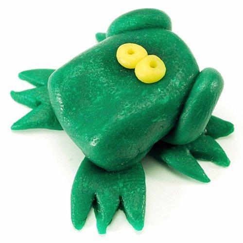Cómo hacer una rana de plastilina