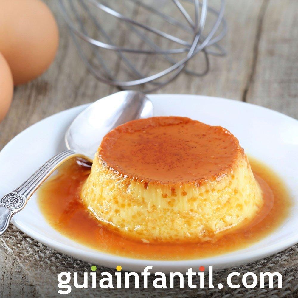 Flan de huevo de la abuela