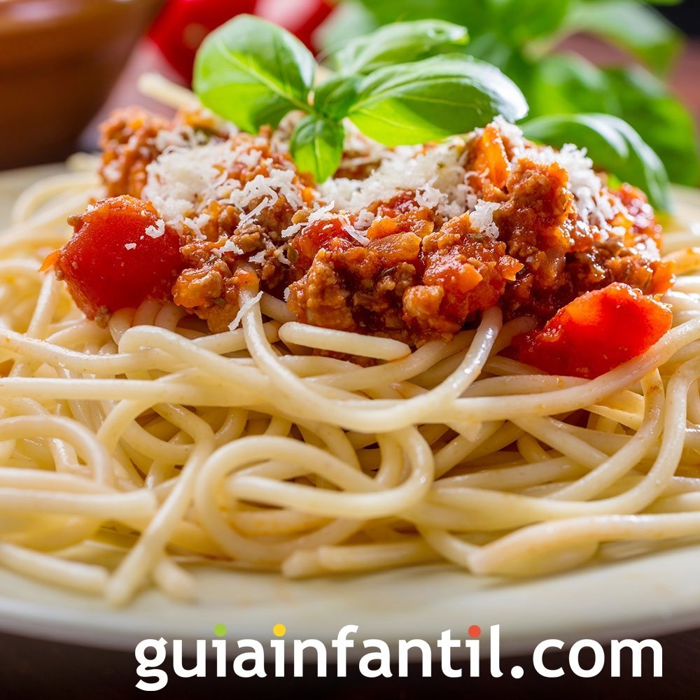 Espaguetis a la boloñesa de la abuela
