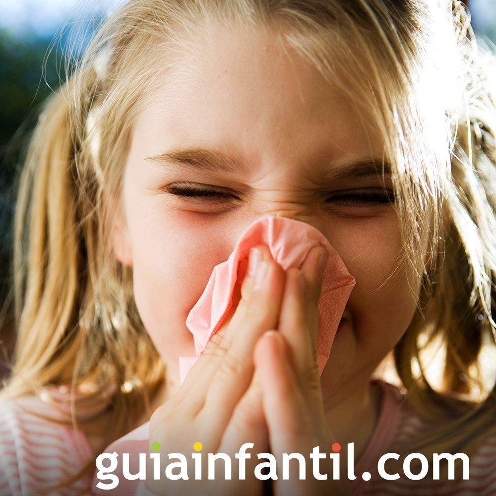 Descarta posibles alergias en los niños