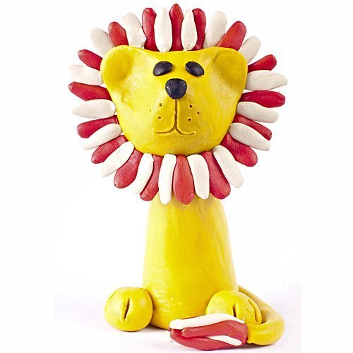 Cómo hacer un león de plastilina