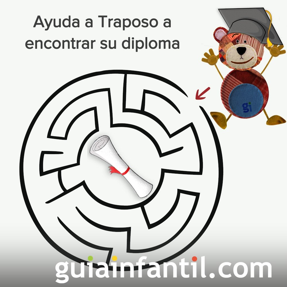 Traposo quiere encontrar su diploma escolar
