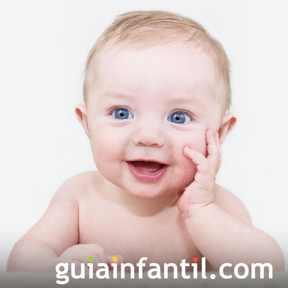 La expresión de atención en los bebés