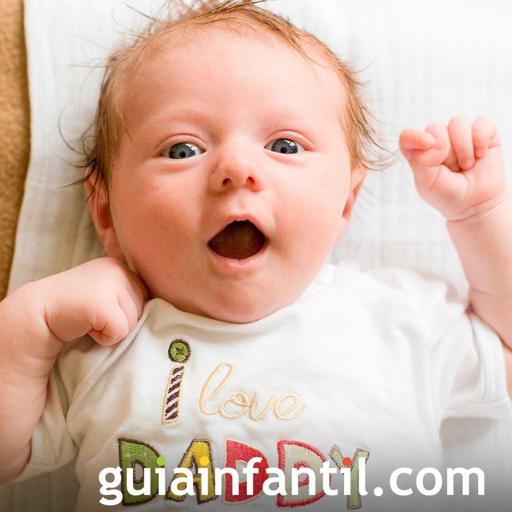 La expresión de sorpresa en los bebés