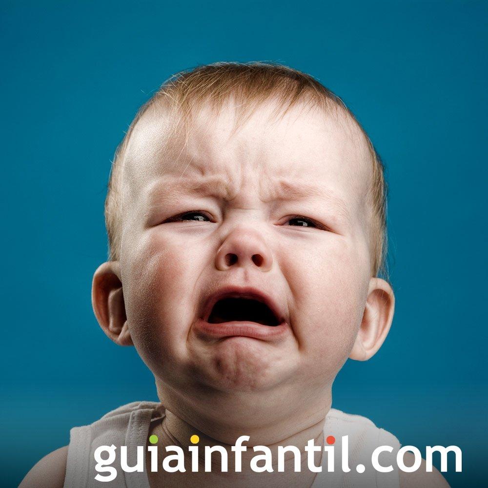 Cuando el bebé llora desconsolado